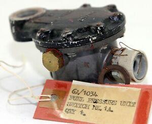 Fuel pressure switch Mk 1A, 6A/1034 for RAF Spitfire etc (GB1)