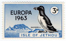 (I.B-JA) Cinderella Collection : Jethou Island 3d (Razorbill) Europa 1963