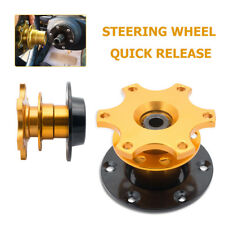 Quick Release Snap Off Hub Adapter for Sparco OMP Momo Car Sport Steering Wheel