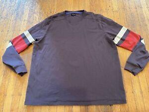 J. Peterman 100% Cotton Pullover Shirt Men's XXL