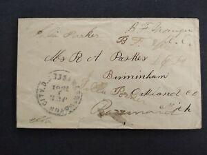 Congressional Free Frank: Granger, Bradley 1861 Cover, 1 Term Michigan Rep