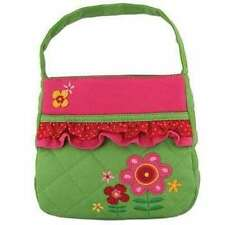 Personalized Stephen Joseph Quilted Flower Purse