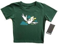 Hurley 12M Toddler Little Boys Green Graphic T-Shirt Tee