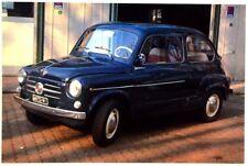 Cartolina Fotografica FIAT 600 Anno Di Costruzione 1958 - Non Viaggiata