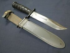 WWII US Navy Mk2 Fighting Knife USN Mark 2 Camillus Guard Mrk Pilot Seabee