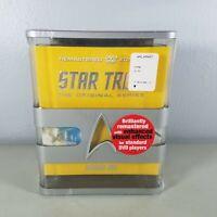 Star Trek The Original Series Season One DVD 2009 With 5 Cards Sealed NIP
