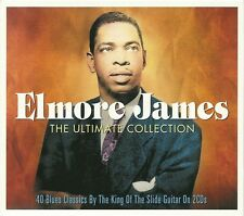 ELMORE JAMES THE ULTIMATE COLLECTION - 2 CD BOX SET - 40 BLUES CLASSICS