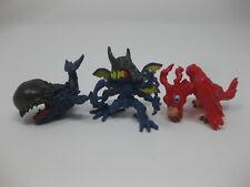 "Bandai Digimon Mini Figure Kabuterimon Whamon Birdramon Lot of 3 Figurines 1"""