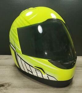 ICON MotoSports Alliance OVERLORD Full-Face Motorcycle Helmet (Hi-Viz)