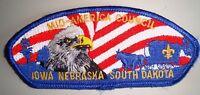MID-AMERICA COUNCIL OA 97 SHOULDER PATCH EAGLE SCOUT USA SERVICE FLAP CSP