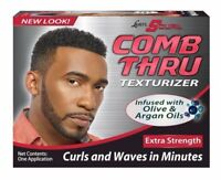 """LUSTER'S SCURL COMB THRU TEXTURIZER SUPER STRENGTH """"CURLS AND WAVES IN MINUTES"""