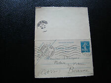 FRANCE - carte-lettre 1922 (date138) (cy57) french