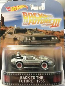 Hot Wheels Replica Entertainment Back to the Future III BACK TO THE FUTURE 1955