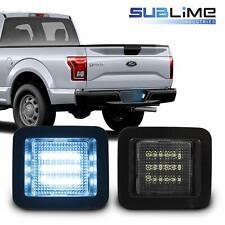 2x LED Bumper License Plate Light Lamp Iceberg Blue Color for F150 Raptor 2015+