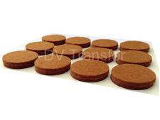Oak Wood Vinyl Tile Laminate Floor Furniture Protector Felt Pads chairs x 24R