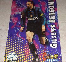 CARD CALCIATORI PANINI 1997 INTER BERGOMI CALCIO 97