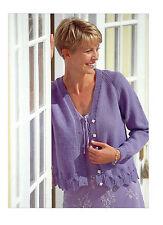 womens ladies cardigan 4 ply knitting pattern 100