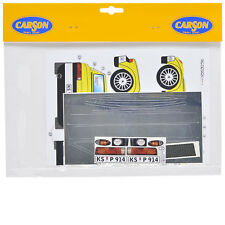 Decal Sheets 1:10 PORSCHE 914 m Chassis Sticker Carson 69133 800031