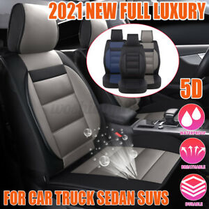 5D Deluxe Universal Full Front Seat Cover Breathable Car Seat Covers