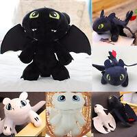 How to Train Your Dragon Plush Toy Stuffed Animal Toothless Night Light Fury Kid