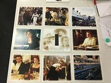 FANTASTIC TITANIC 7 OFFICIAL PHOTO PRINTS AND AMAZING FILM CELL