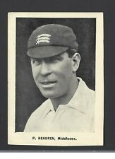 THOMSON - CRICKETERS (EXTRA LARGE) - E HENDREN, MIDDLESEX