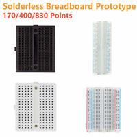 Lötfreies Prototyp Breadboard mit 170 400 830 Löcher Kontakten für Arduino