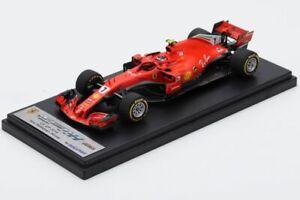 LOOKSMART LSF1018 FERRARI SF71H N°7 Vainqueur GP US 2018 Kimi Räikkönen #NEW