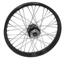 Black Front Wheel, 21 x 2.15 Size, Fits Harley FXWG 1980/1983, Dual Flange