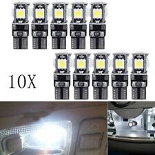 10x Auto 5SMD LED T10 Lampe Weiß CANBUS Standlicht Innenraum 12V DE DHL TÜV