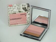 KORRES Magic Light Face Contouring Powder Trio MYKONOS  0.30 oz / 9 grams New