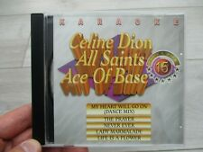 Celine Dion All Saints Karaoke Disc VCD CD Xmas Birthday Celebrations Parties