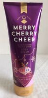 Bath & Body Works Merry Cherry Cheer Ultra Shea Body Cream  8 Fl Oz