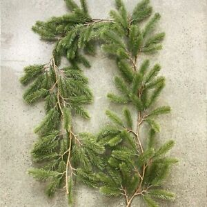 Artificial Green Christmas Garland Pine Tree Hanging Ornament Party Decoration