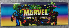 Marvel Super Heroes Arcade Game Marquee Fridge Magnet