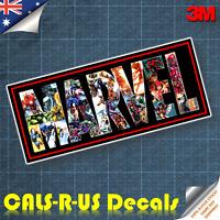MARVEL Ironman Hulk Thor Captain America Luggage Sticker Skateboard Guitar L5