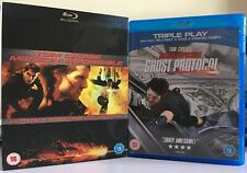 Mission: Impossible Ultimate Edition And 4 Ghost Protocol( Blu Ray)