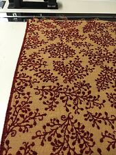 Raisin  Gold Jacquard  chenille fabric by the yard drapery pillows upholstery