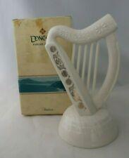 New listing Donegal Irish Parian China Harp W/ Gold Decor