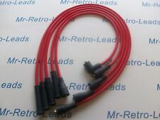 RED 8MM PERFORMANCE IGNITION LEADS WILL FIT LOTUS EXCEL ESPRIT 2.2  QUALITY LEAD