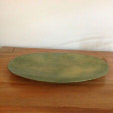 """Orson & Blake OB Collection Oval Dish/ Platter/Tray 20"""" Raw Gold"""