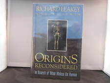 Origins Reconsidered. Richard Leakey. 1st Edition. Mint. Signed