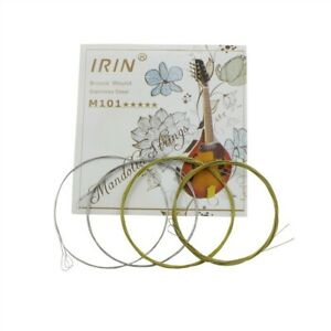 4 P/set Of Mandolin String Stainless Steel Wire Musical Instrument Accessories
