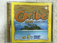 CARIBE 2002 CD CORAZON LATINO CD3 + DVD VIDEO VALE MUSIC