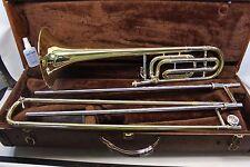 Bach Stradivarius 42  Bb Trombone PROFESSIONAL F Trigger FAST SHIPPING L@@K