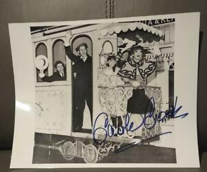 CAROLE COOK SIGNED HELLO DOLLY 10X8 PHOTO