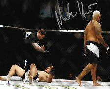 Mark Hunt Signed 8x10 Photo BAS Beckett COA UFC Fight Night 85 Frank Mir Walkoff
