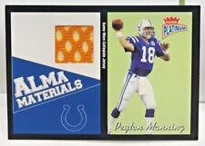Peyton Manning 2003 Fleer Platinum Alma Materials TENNESEE VOLS GU Jersey SP