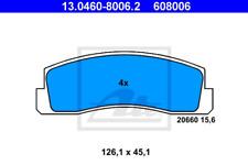 TRW Zubehörsatz Scheibenbremsbelag PFK145 vorne für LADA NIVA 2121 TAIGA 2 2123