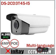 HIKVISION DS-2CD3T45-I5 4MP HD 1080P POE IR Bullet Network IP night CCTV Camera